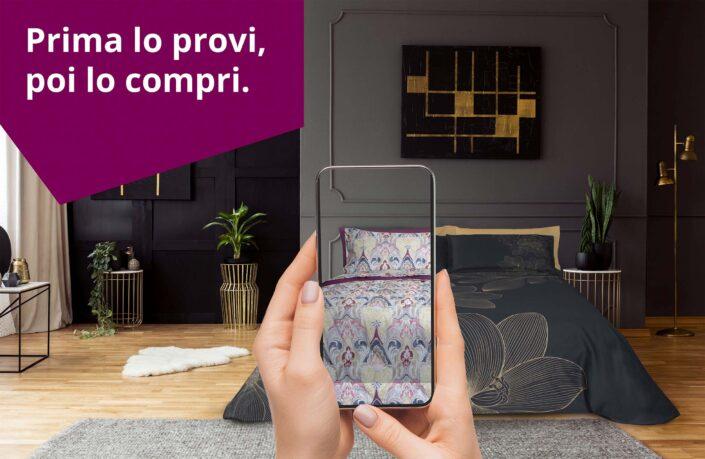 Nasce CASAhomewear, l'app gratuita che permette di inquadrare il proprio letto da smartphone per cambiare la biancheria